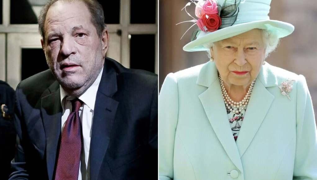 Queen Elizabeth annulled the medal to Harvey Weinstein