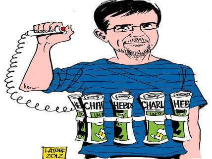 Notorious Charlie Hebdo danger for society