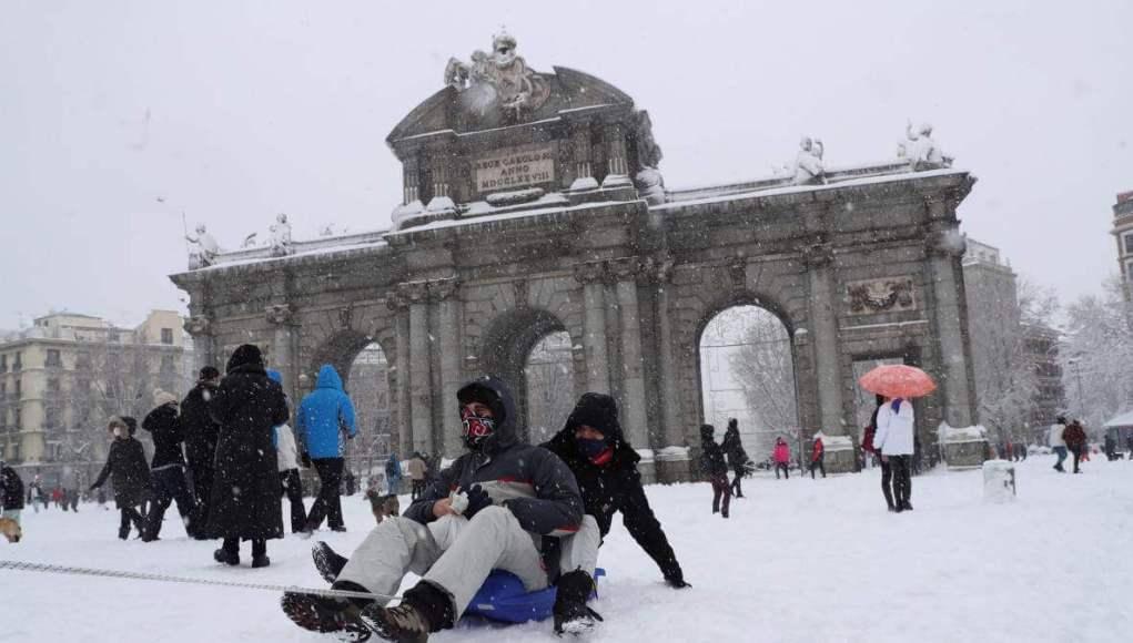 Heavy Snowfall in Spain: 3 die in the heavy snowfall in Madrid