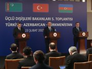 Meeting of the Foreign Ministers of Turkey, Azerbaijan and Turkmenistan