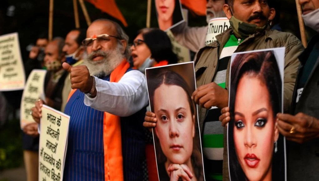 Farmers Protest India - Authorities react to Greta Thunberg and Rihanna's statements