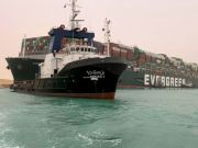"""MV Evergreen, The delinquency of a Taiwanese ship in """"Suez"""" raises the price of oil"""