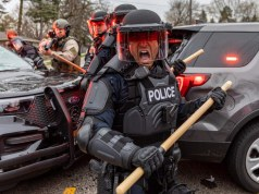 Clashes with police killing black American Minneapolis America