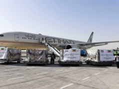 UAE sends humanitarian support to Ethiopia - 46 tons of food and health supplies