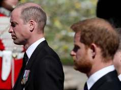 william and harry conversation on Grandpa's funeral