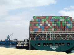 EVER-GIVEN-EVERGREEN-SHIP-STUCK-IN-SUEZ-CANAL-EGYPT-LONDON-UK