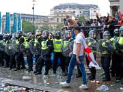 Fans storm Wembley Stadium to attend Euro 2020 final