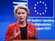 Von der Leyen: Moral duty to protect Afghans-AFGHANISTAN-TALIBAN-EUROPEAN-UNION