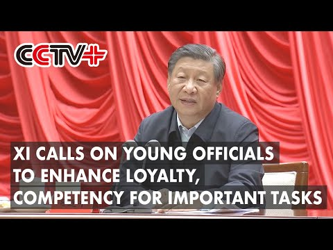 Xi calls on young officials to enhance loyalty, competency for important tasks