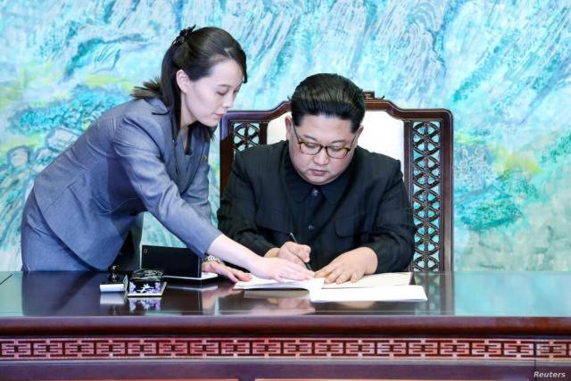 KIM-NORTH-KOREA-SOUTH-KOREA-DIALOGUE-CONFLICT