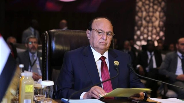 The Yemeni president asks for international support to confront the political and economic crisis