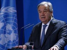 """Guterres looks forward to cooperating with the """"Shanghai Summit"""" to support the Afghan people"""