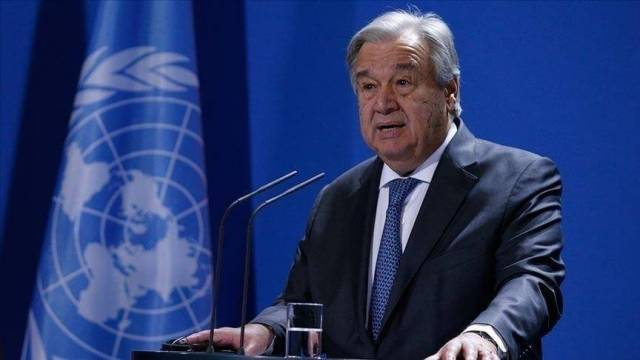 Guterres looks forward to cooperating with the