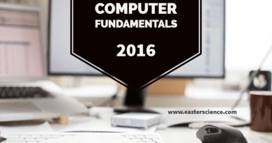Computer Fundamentals-2016