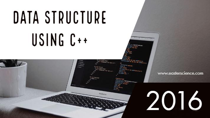 Data Structure Using C++-2016
