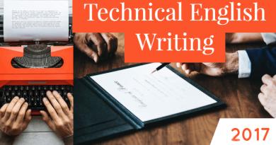 Technical English Writing-2017