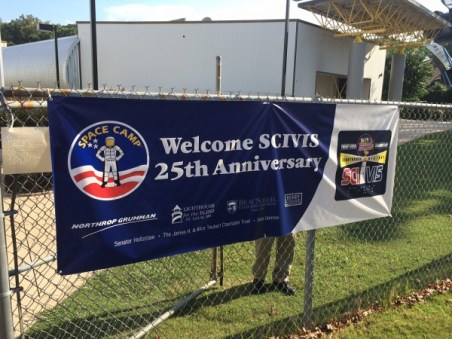 Space Camp for Interested Visually-Impaired Students (SCIVIS) Banner