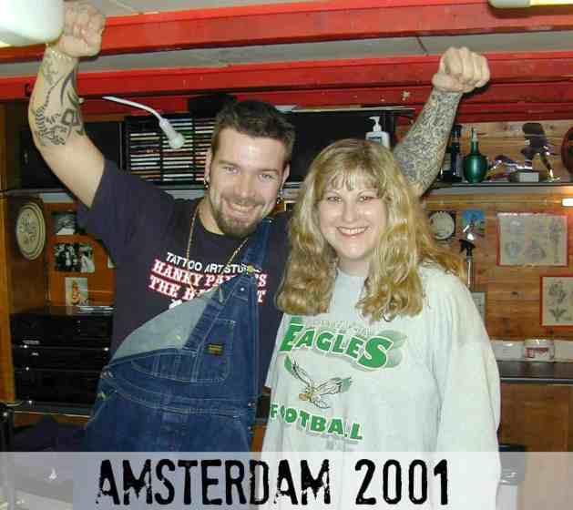 East Falls Local macho Follie-tattoo artist diane hanky panky amsterdam