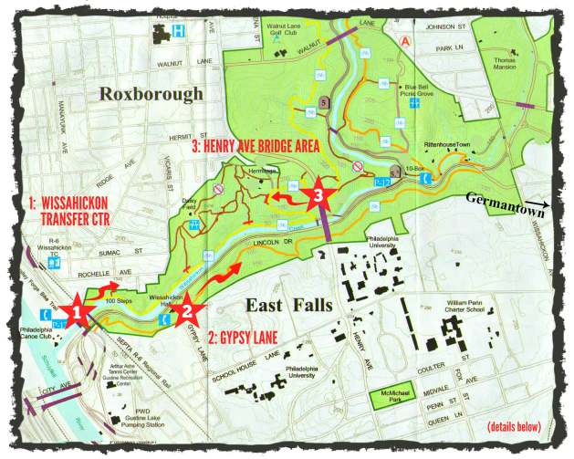 EastFallsLocal Wissahickon Map east falls Less Germantown resize frame txt stars arrows key