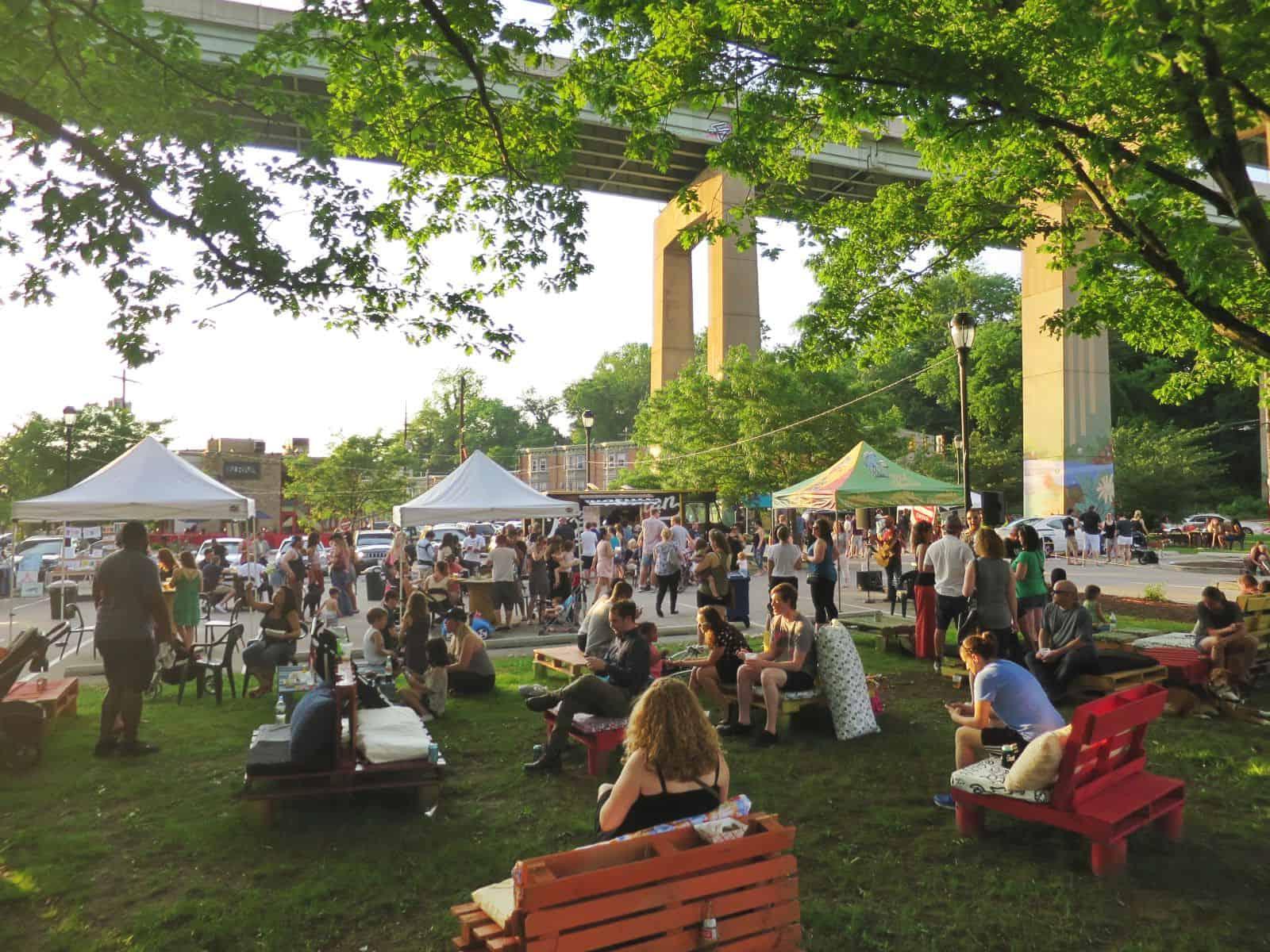 Beer Gardens A Go Go Eastfallslocal