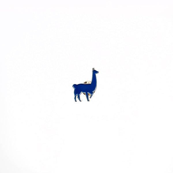 East Fork Cultivars Blue Llama Enamel Pin