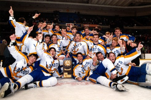 '92 NCAA Hockey Champions
