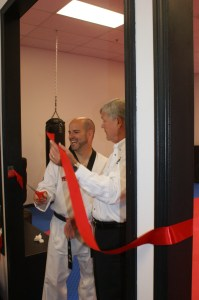Ribbon Cutting Beard's TKD