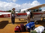 Loading Medical Supplies Onto The Plane