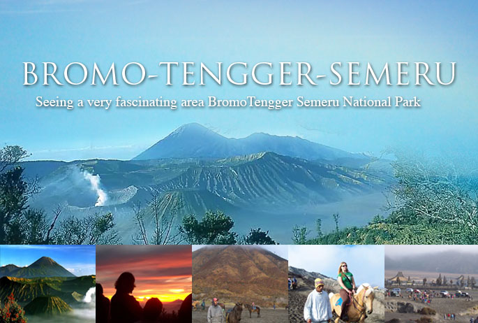 Bromo Mountain As The Fantastic Volcanoe At Java Indonesia
