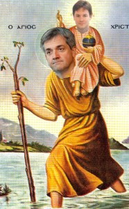 Saint Christopher Huhne