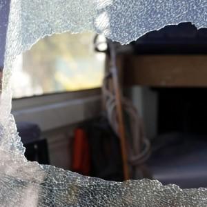 Van broken window iStock 6016528