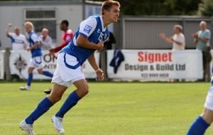 Brett Williams will return to the Silverlake in Aldershot colours