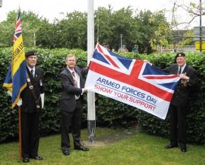 Norman Brown MBE Eastleigh British Legion