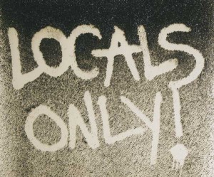 1 locals only 1