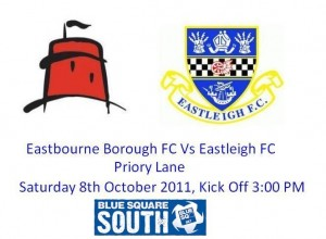 Eastbourne Borough FC Vs Eastleigh FC 11