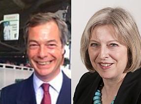 Farage May