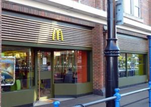 McDonalds Swan Centre Eastleigh