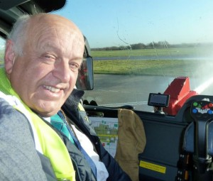 Eastleigh's Mayor gets to ride in a Fire Engine!