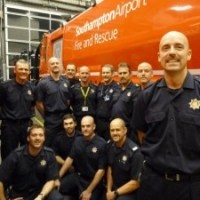 Airport fire crew embrace Movember