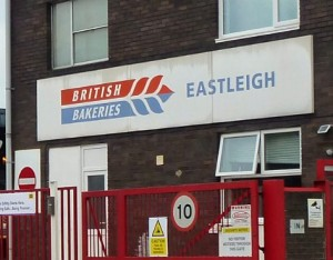 British Bakeries Eastleigh