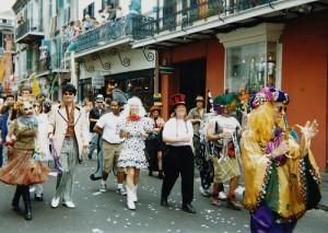 Mardi Gras new Orleans Style