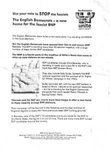 UAF leaflet