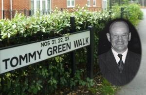 Tommy Green Walk Eastleigh