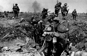 WW1 Battle of Mons