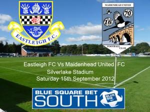 Eastleigh FC Vs Maidenhead United FC 1