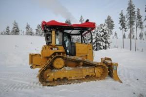 Caterpillar have donated specialist equipment