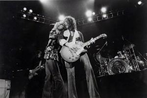 Led Zeppelin 1975 promo shot