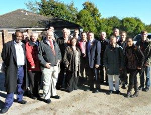 Labour activists at Stoneham Park Eastleigh