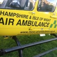 Air Ambulance scrambled in Derby Rd drama