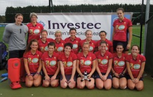 Trojans Ladies 1st XI pose for a picture after beating taunton Vale 4-1